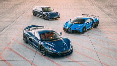 Bugatti și Rimac își unesc destinele sub umbrela Porsche