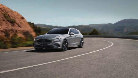 Genesis G70 Shooting Brake a debutat în Europa