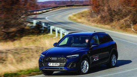 Test drive Audi Q5 40 TDI quattro S tronic