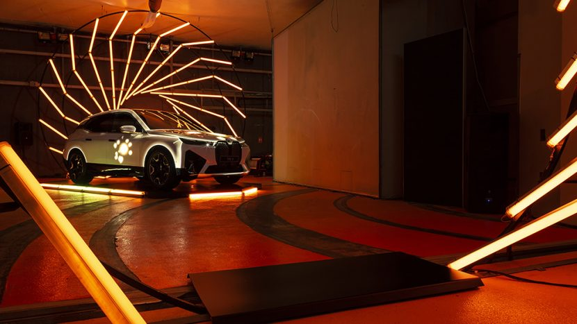 BMW iX laserul de la Magurele autoexpert.ro