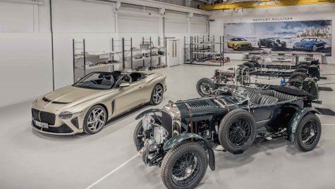 Bentley Mulliner va livra primele exemplare Blower și Bacalar