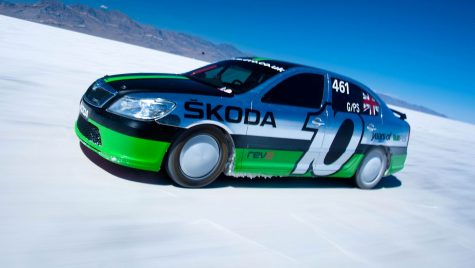 Cea mai rapidă Octavia RS, care a atins 365 km/h, a fost restaurată