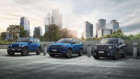 Gama de hibrizi plug-in Jeep 4xe este disponibilă și în România