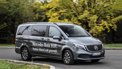 Test drive Mercedes-Benz EQV 300