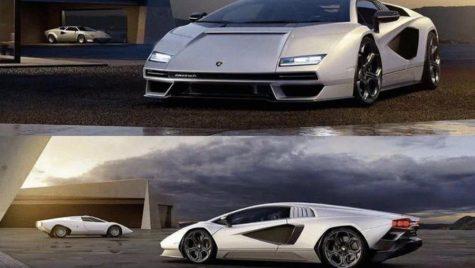 "Noul Lamborghini Countach, ""scăpat"" pe net"