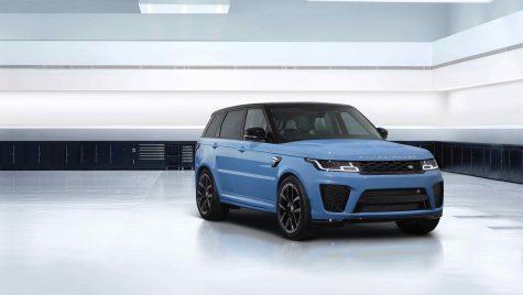 Range Rover Sport SVR Ultimate Edition: 575 CP și 700 Nm