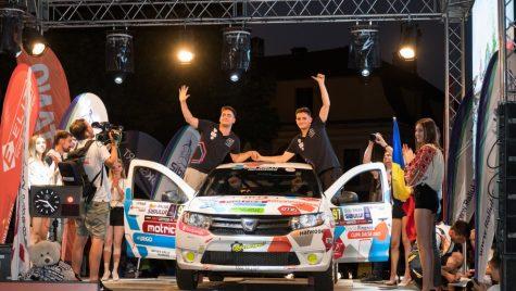 Victor Supuran câștigă Cupa Dacia la Raliul Sibiului