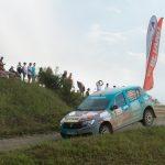Echipajul Dragos Popa/ Vlad Colceriu - locul 2 al Cupei Dacia la Raliul Sibiului , castigatorul probei de pe circuitul paralel