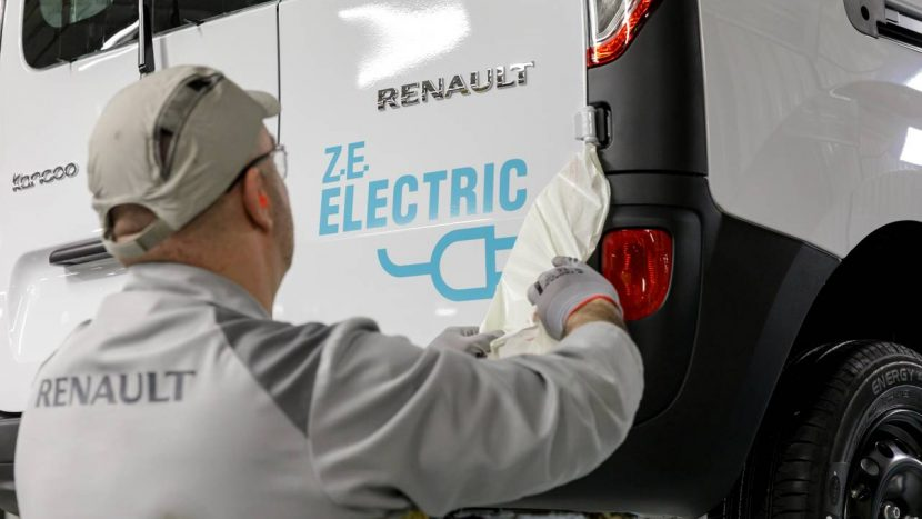 Renault baterii litiu