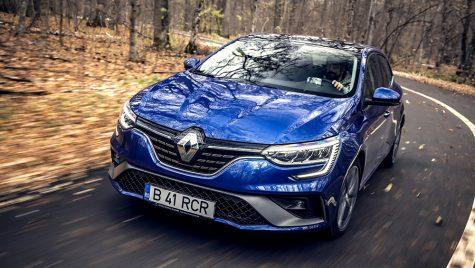 Test drive Renault Megane facelift RS Line TCe 160 EDC