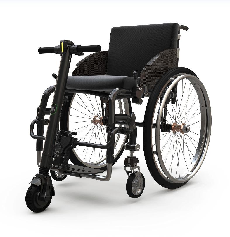 Monociclu electric UNAwheel scaun cu rotile autoexpert.ro