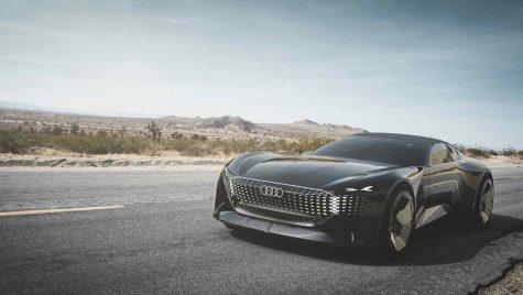 Audi Skysphere Concept: roadster electric și autonom cu 630 CP
