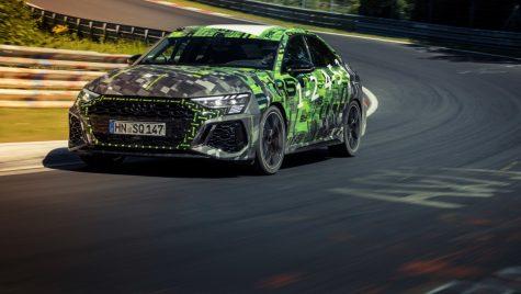 Audi RS3 Sedan stabilește un nou record pe Nurburgring