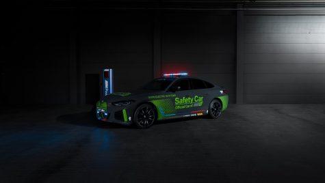 BMW i4 M50 va fi noul Safety Car pentru campionatul MotoE