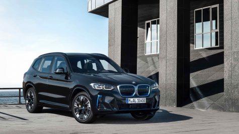 Modelul electric BMW iX3 primește un facelift discret