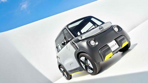 Opel Rocks-e: cvadriciclu electric destinat uzului urban