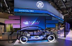 ZF pune în mișcare mobilitatea sustenabilă. Cele mai recente inovații prezentate la IAA Mobility