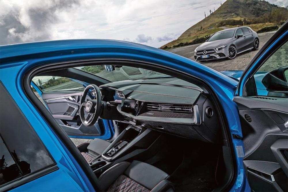 Audi S3 vs Mercedes-AMG A35