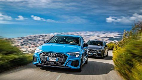 Test comparativ Audi S3 vs Mercedes-AMG A35