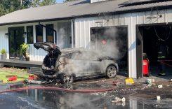 Chevrolet Bolt ia foc din senin