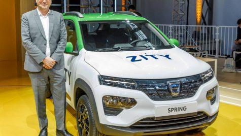 Denis le Vot: Aici facem noi mașinile și aici este marca Dacia. În România