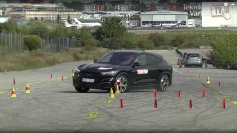 Ford Mustang Mach-E pică testul elanului