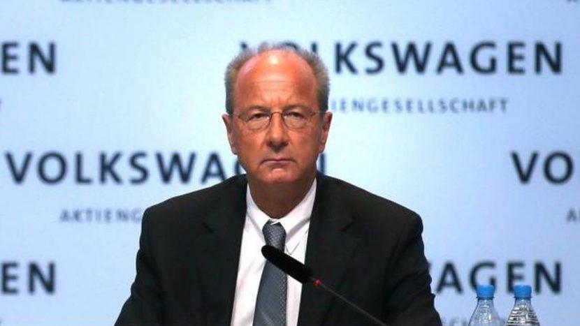 Hans Dieter Poetsch VW președintele