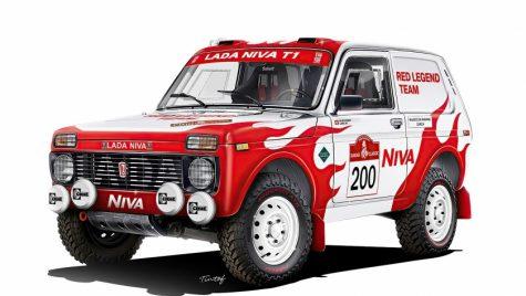 Lada Niva va participa la Dakar 2022