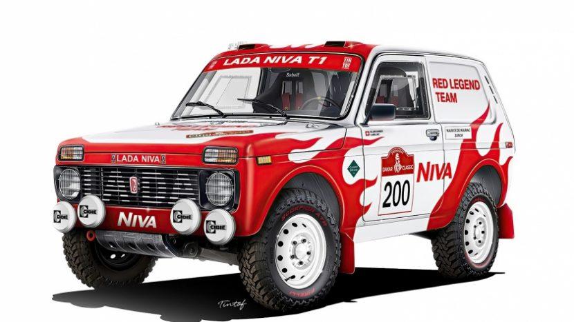 Lada Niva la Dakar 2022 autoexpert.ro