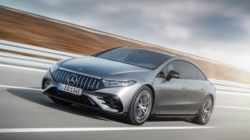 Mercedes-AMG EQS 53 4MATIC+, 2021Mercedes-AMG EQS 53 4MATIC+
