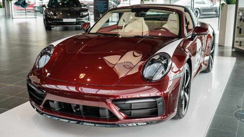 Porsche 911 Targa 4S Heritage Design Edition - Tiriac Collection - autoexpert.ro