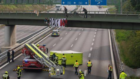 Proteste la IAA Mobility din Munchen