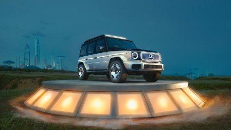 IAA Munchen: Conceptul Mercedes-Benz EQG anunță viitorul Clasa G electric