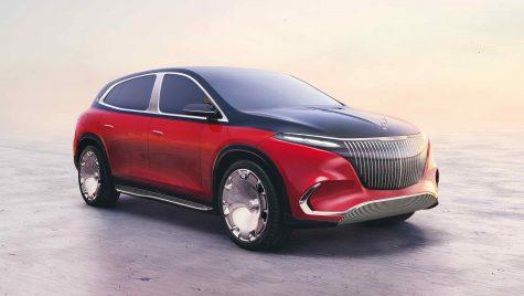 Conceptul Mercedes-Maybach EQS SUV anunță primul model electric al diviziei de lux