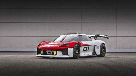 Porsche Mission R anunță un viitor model dedicat circuitului