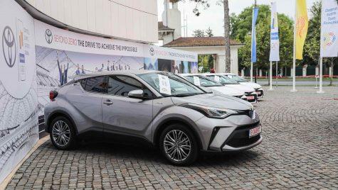 Toyota a premiat sportivii medaliați la Jocurile Olimpice de la Tokyo