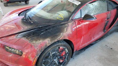 Bugatti Chiron ars, scos la licitație