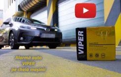 Test video cu alarma Viper fără telecomandă! Folosește doar cheia mașinii
