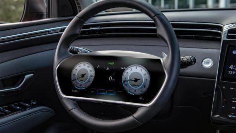 Hyundai patentează instrumentarul digital în volan