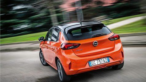 Test cu măsurători Opel Corsa-e