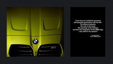 """BMW: fotograful Radu Chindriș și designerul șef Domagoj Dukec """"creionează"""" noul M4"""