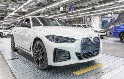 BMW i4 a intrat în producția de serie