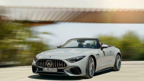 Mercedes-AMG SL: informații și fotografii oficiale