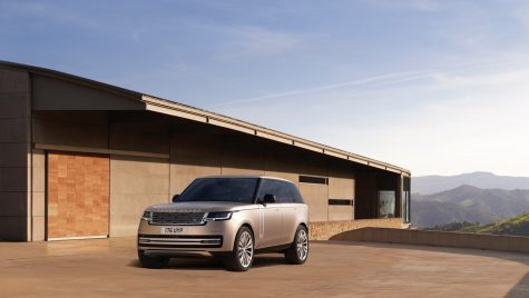 Aceasta este a cincea generație Range Rover model 2022