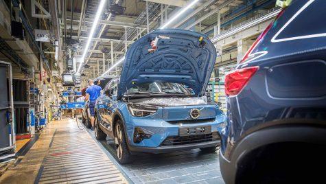 Modelul electric Volvo C40 Recharge a intrat în producție