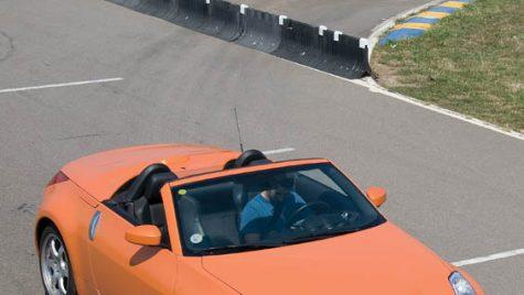Test drive Nissan 350Z Roadster