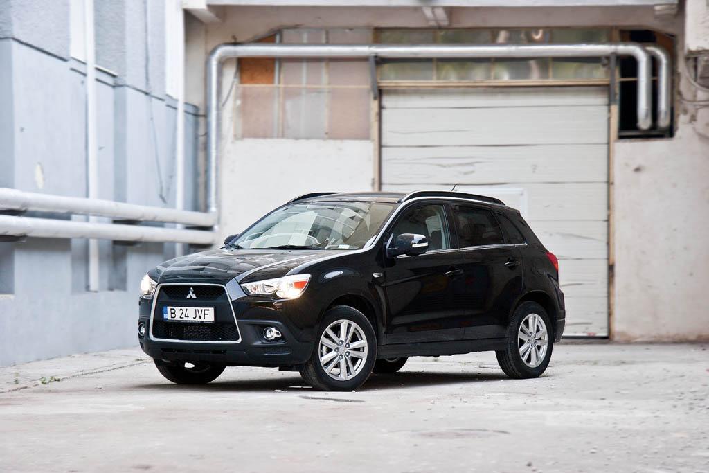 Drive test Mitsubishi ASX 1.8 DID 4WD