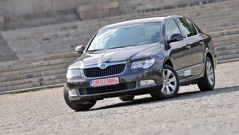 Test drive Skoda Superb 2.0 TDI 170 CP