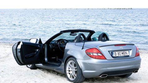 Test drive Mercedes-Benz SLK 350 305 CP