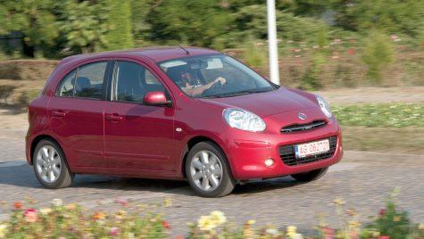 Test drive – Nissan Micra 1.2i/80 CP CVT